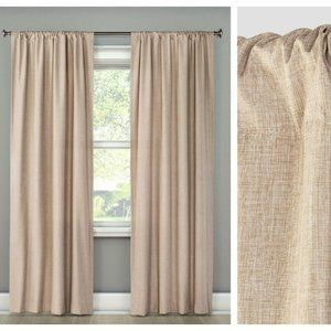 Room Essentials Blackout Curtain Panel Tan